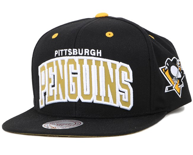Pittsburgh Penguins Reflective Arch NHL Snapback - Mitchell   Ness ... 77abaef9c180