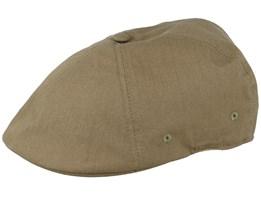 Ripstop Flexfit 504 Army Green Flat Cap - Kangol