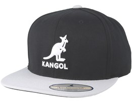 42b1b227ea8 Championship Links Black Grey Snapback - Kangol