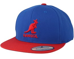 Championship Links Royal/Red Snapback - Kangol