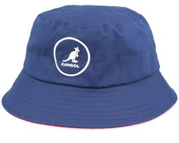 Cotton Bucket Navy/Red Bucket - Kangol