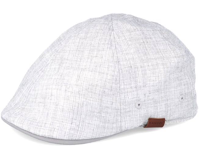 da71a08a4c9 Pattern Flexfit Linen Marl Heather Grey Flat Cap - Kangol caps -  Hatstoreworld.com
