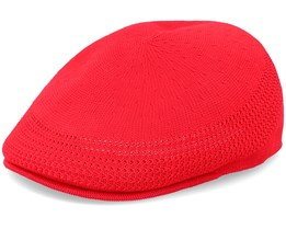 Tropic 507 Ventair Scarlet Flat Cap - Kangol
