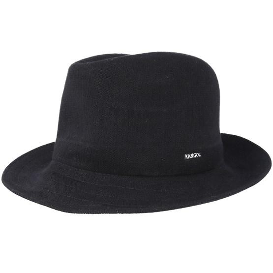 718b258edc102 Bamboo Gent Black Trilby - Kangol hats | Hatstore.co.uk