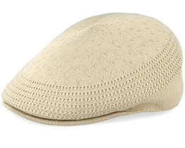 Tropic 507 Ventair Beige Flat Cap - Kangol