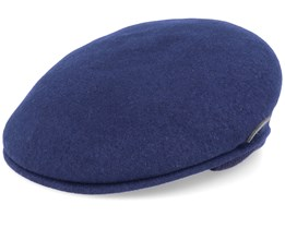 Wool 504 Navy Ear Flap - Kangol