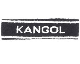 Bermuda Stripe Black Headband - Kangol