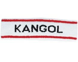 Bermuda Stripe White Headband - Kangol