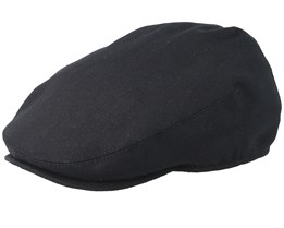 Washed Cap Black Flat Cap - Kangol