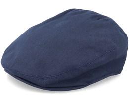 Washed Cap Navy Flat Cap - Kangol