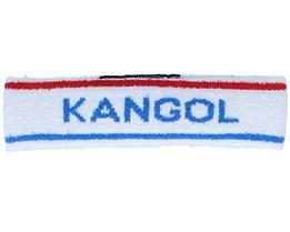 Kg Bermuda Stripe White/Ciano Headband - Kangol