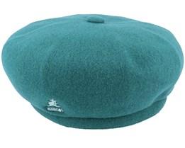 Wool Jax Dk Lichen Green Beret - Kangol