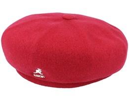 Wool Jax Red Velvet Beret - Kangol