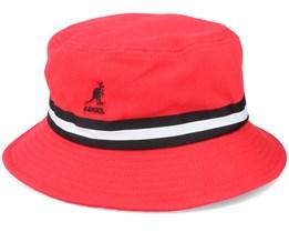 Stripe Lahinch Cardinal Bucket - Kangol