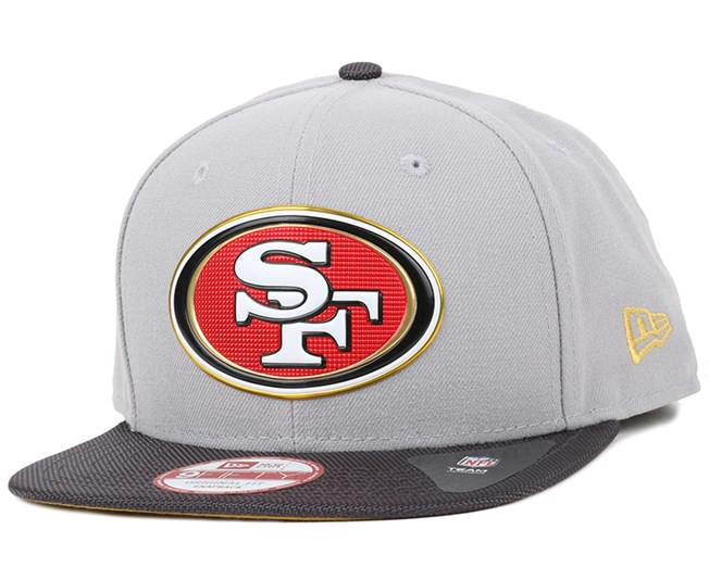 c70e377f1 San Francisco 49ers Gold Collection 9Fifty Snapback - New Era caps ...