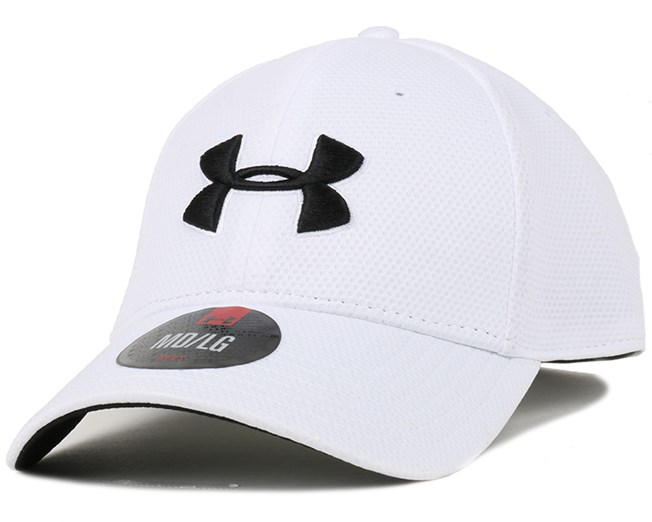 c53a32602d8da Blitzing II White Flexfit - Under Armour caps - Hatstoreworld.com