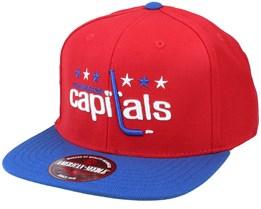 Washington Capitals 400 Series Red/Royal Snapback - American Needle