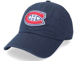 Montreal Canadiens Blue Line Navy Dad Cap - American Needle