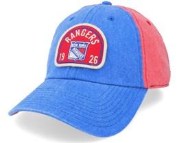 New York Rangers Gunner Red/Royal Dad Cap - American Needle