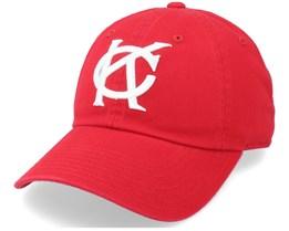 Kansas City Monarchs Ballpark Red Dad Cap - American Needle