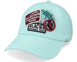 Glacier National Park Iconic Seafoam Dad Cap - American Needle