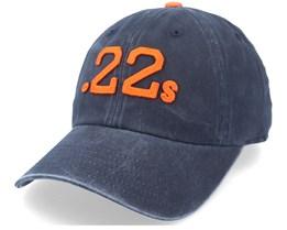 Moultrie .22'S Archive Navy & Orange Dad Cap - American Needle
