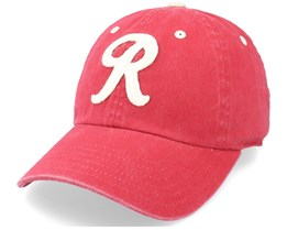 Seattle Rainers Archive Dark Red & Royal Dad Cap - American Needle