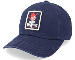 Austin Senators Archive Navy Dad Cap - American Needle
