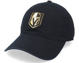 Vegas Golden Knights Blue Line Gold Black Dad Cap - American Needle