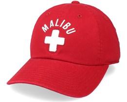 Malibu Ballpark Red Adjustable - American Needle