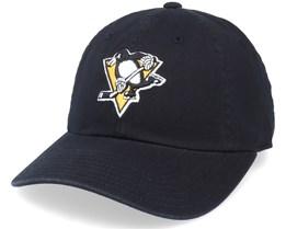Pittsburgh Penguins Blue Line Black Dad Cap - American Needle