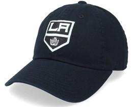 Los Angeles Kings Blue Line Black Dad Cap - American Needle