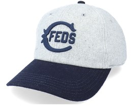 Chicago Federals Archive Legend Hther Gray/Navy Dad Cap - American Needle