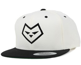 Logo One White/Black Snapback - Iconic