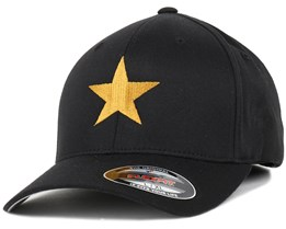 Star Black/Gold Flexfit - Iconic