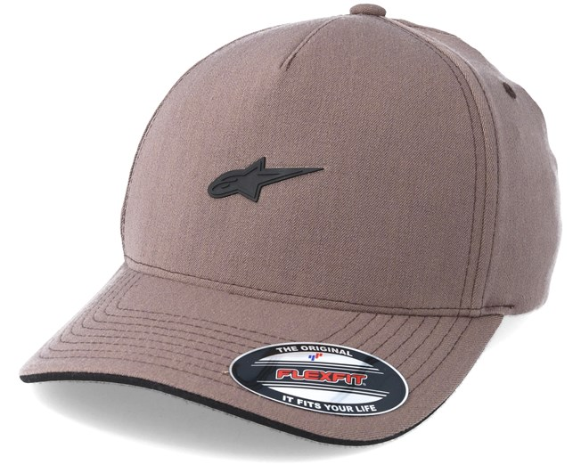 e8918c6ac9ac7 Hearth Brown Flexfit - Alpinestars caps