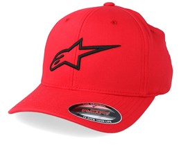 Ageless Curve Red/Black Flexfit - Alpinestars