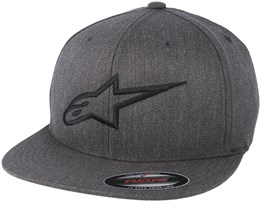 Ageless Flatbill Charcoal/Black Fitted - Alpinestars