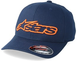 Blaze Navy/Orange Flexfit - Alpinestars