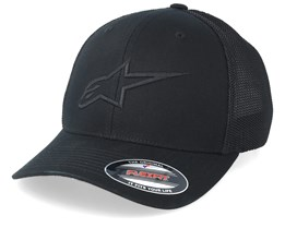 Ageless Stretch Mesh Black/Black Flexfit - Alpinestars