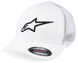 Ageless Stretch Mesh White/Black Flexfit - Alpinestars
