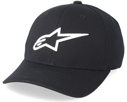 Ageless Mock Mesh Black/White Flexfit - Alpinestars