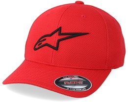 Ageless Mock Mesh Red/Black Flexfit - Alpinestars
