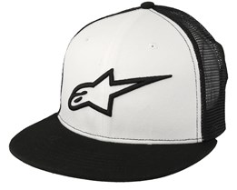 Corp White/Black Trucker - Alpinestars