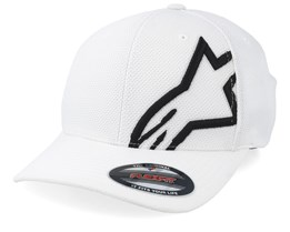 Corp Shift Mock Mesh White/Black Flexfit - Alpinestars