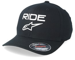 Ride 2.0 Black/White Flexfit - Alpinestars
