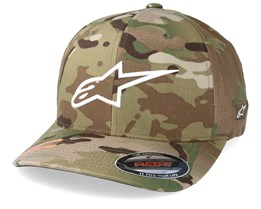Ageless Multi Camo Green/White Flexfit - Alpinestars