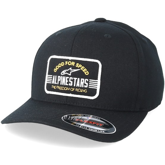 Bars Black Flexfit - Alpinestars caps - Hatstore.ae 93de020bb872