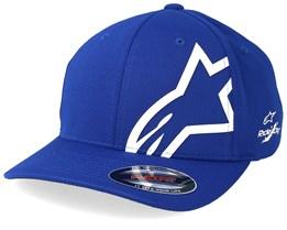 Corp Shift Sonic Tech Royal Blue/White Flexfit - Alpinestars