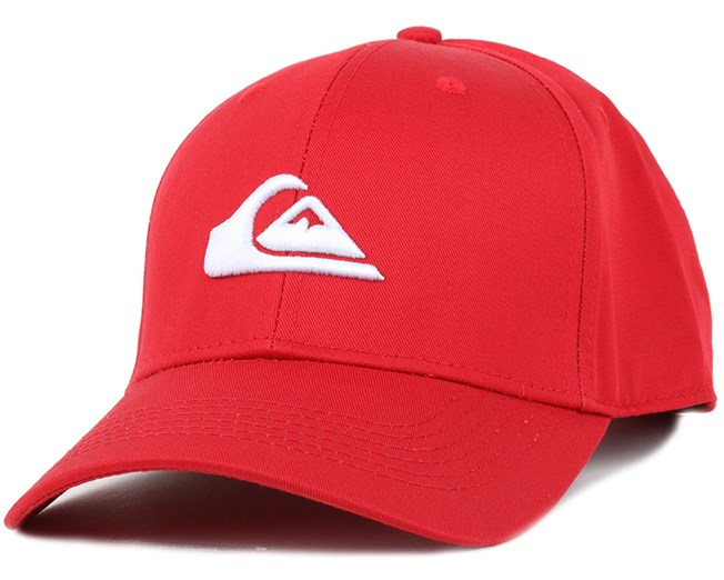 Decades Quik Red Adjustable - Quiksilver caps  e85360de8ef